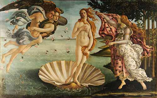 Die Aphrodite von Botticelli