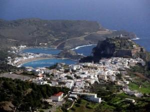 Inselhauptstadt Chora